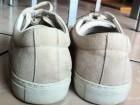 Sneakers National Standard en suède couleur sable - Image 1