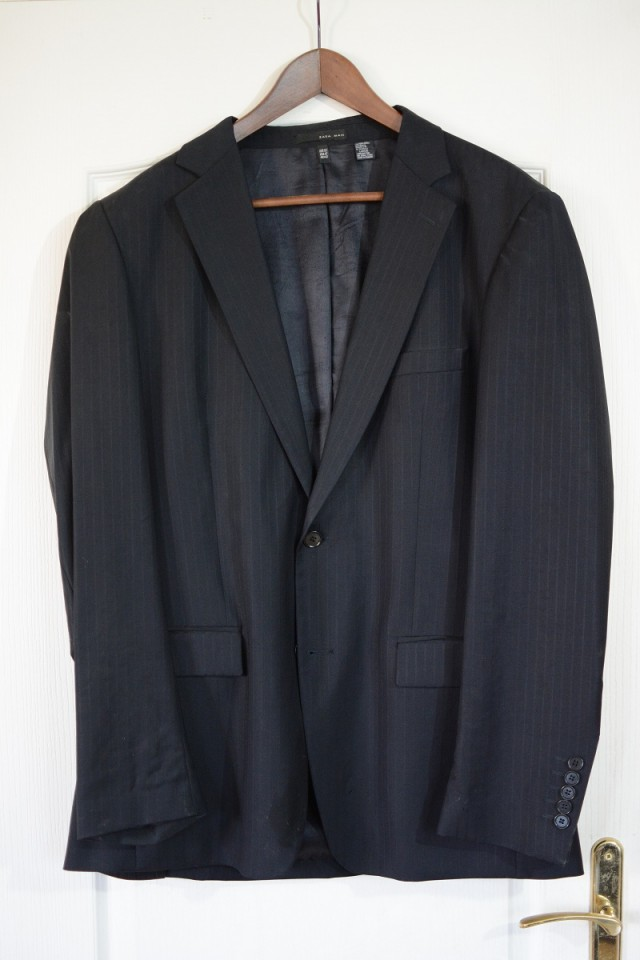 Blazer veste  Zara Man noir T52