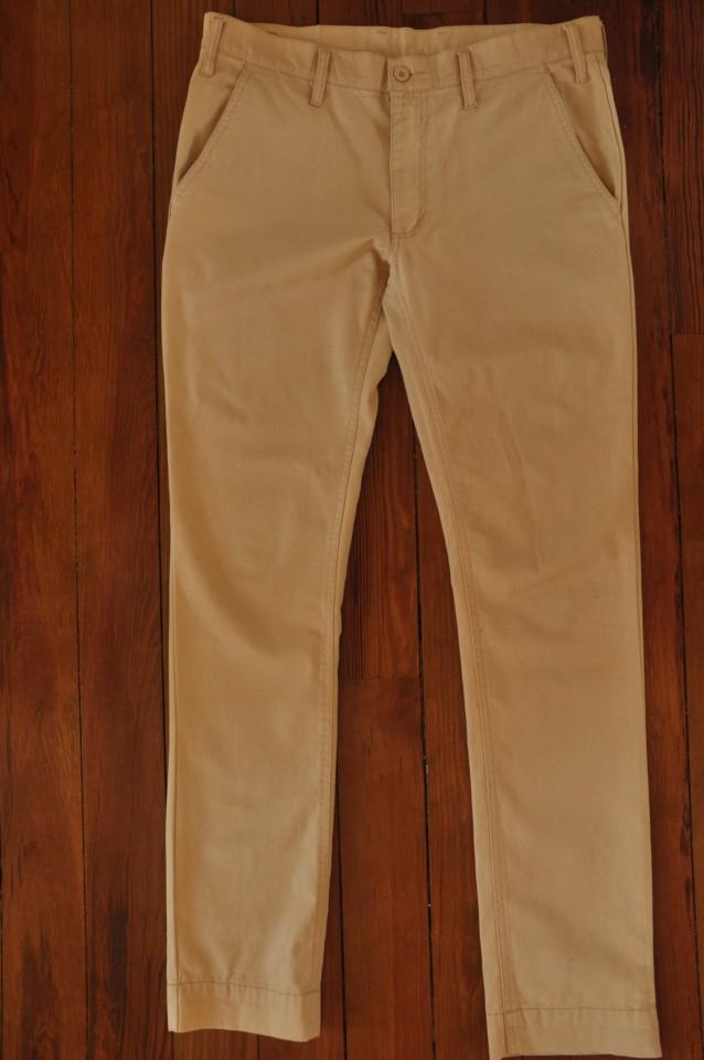 Pantalon Chino Cheap Monday Moutarde