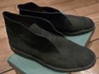 Desert boot Clarks daim noir - Image 1