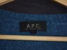 Cardigan APC bleu acier - Image 2