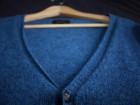 Cardigan APC bleu acier - Image 3