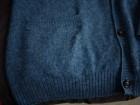 Cardigan APC bleu acier - Image 4