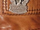 Veste en cuir marron taille xl marque diesel neuve avec etiquettes - Image 1
