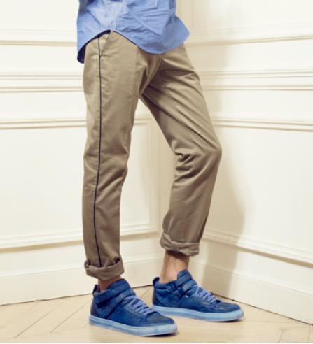 Pantalon Marchand Drapier Dufy T52