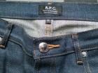Jean APC Petit Standard bleu brut - Image 1