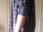 Chemise à carreaux Levi's Noire et bleu-gris - Image 1