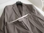 Costume/Devred/veste et pantalon/Taupe rayé beige - Image 3