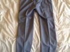 Pantalon Mélinda Gloss bleu-gris en laine - Image 2