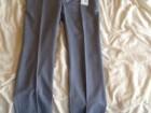 Pantalon Mélinda Gloss bleu-gris en laine - Image 3