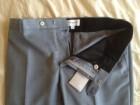 Pantalon Mélinda Gloss bleu-gris en laine - Image 4