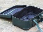 Bagage en cuir Zegna Vert - Image 1