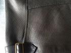 Blouson en cuir Kenzo noir