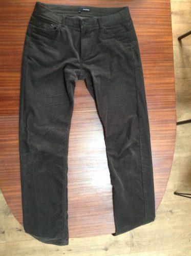 Pantalon velours The Cooptes vert foncé