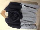 Sweat à capuche bleu gris H&M - Image 1