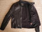 Veste style biker en cuir River Island Noir - Image 1