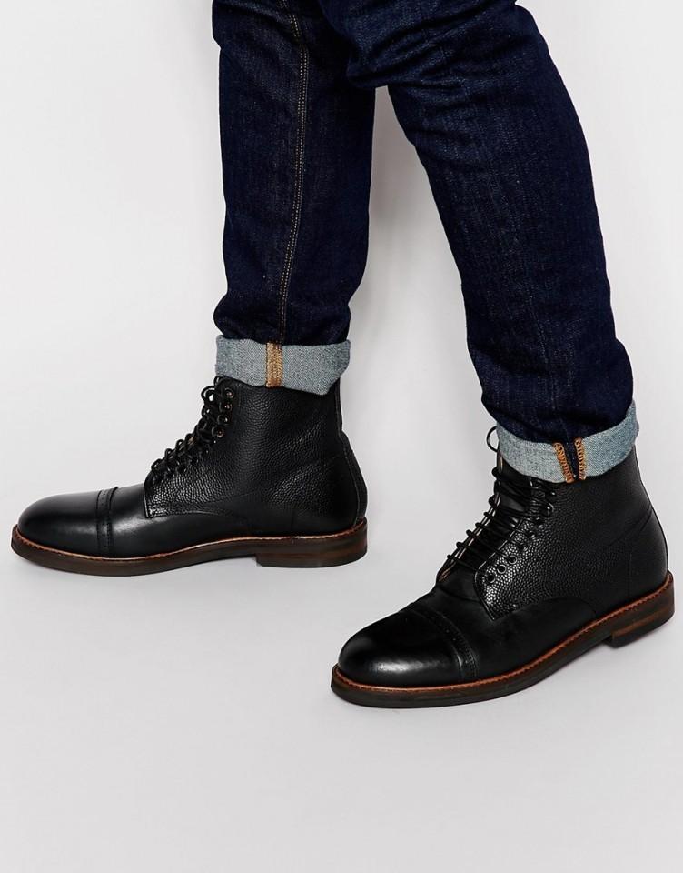 Hudson bottes noires T.41