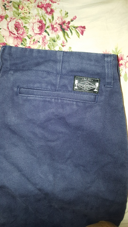 Chino Cuisse de Grenouille Taille 29