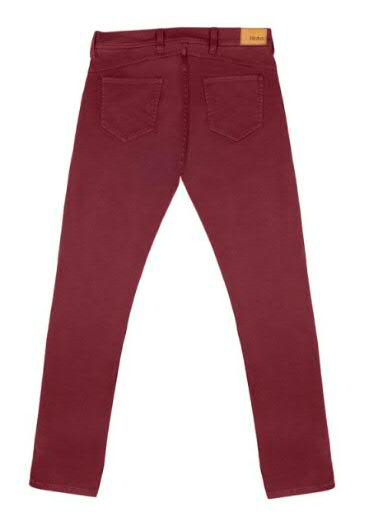 Pantalon Hédus Rouge