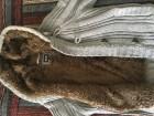 Schott Manteau court d'hiver laine & fourrure