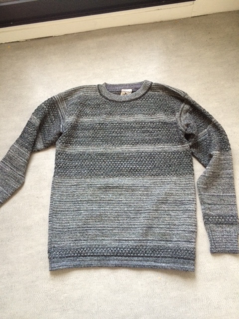 Pull Fisherman SNS grey mix