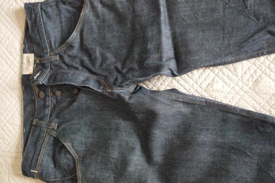 Wrangler Jean brut modèle «Ben» indigo
