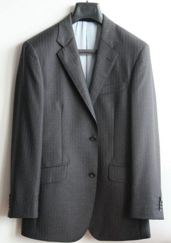 gris rayures.veste
