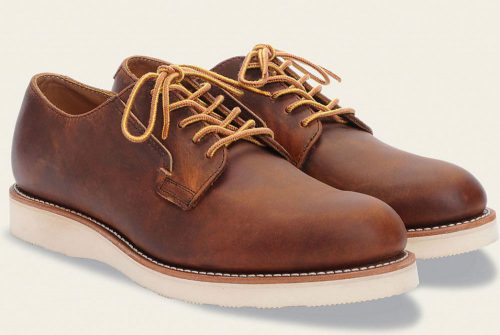 Red-Wing-Heritage-Postman-Shoe-Copper-rough-and-tough-leather-3107-side