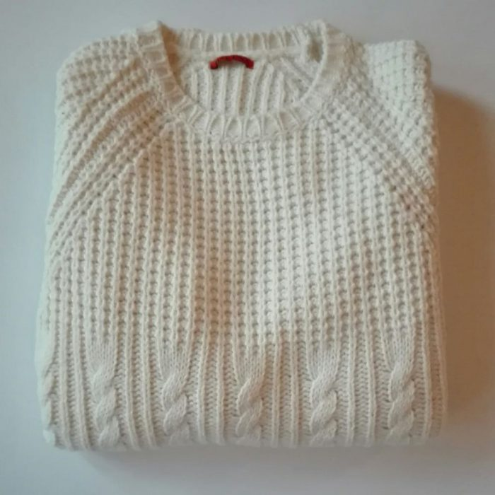 pull barena col blanc double tricot_1