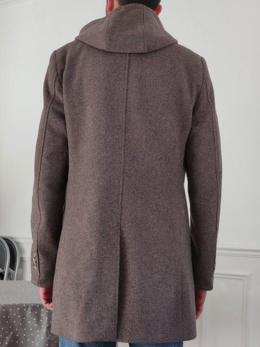 professionnel de la vente à chaud attrayant et durable classcic Manteau Father & Sons gris homme à vendre