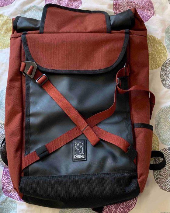 sac a dos chrome