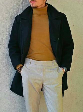 Caban en laine imperméable Sémaphore navy homme à vendre