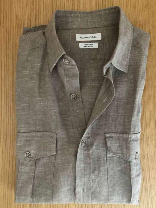 Chemises-Chemise-Lin-Massimo-Dutti-taille-S-neuve-3