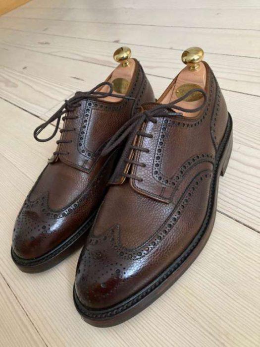 Chaussures-hommes-Crockett---Jones-Pembroke-neuves