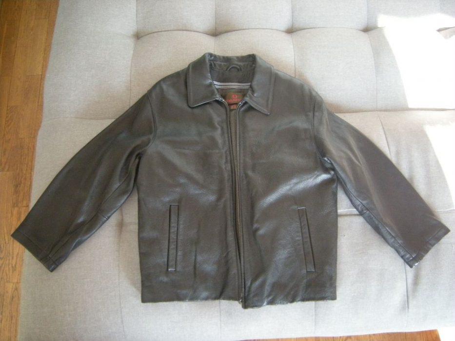 Blouson en cuir Homme Danier noir T50